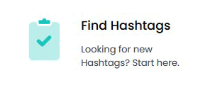 Find hashtags using Hashtastic