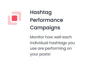 now check hashtags performance with hashtastic