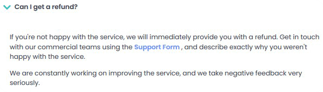 Refund Policy Of Hashtastic