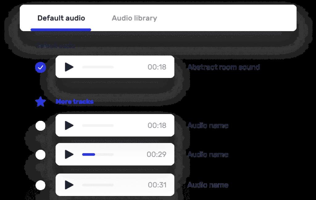 Viddyoze Multiple Audio Options