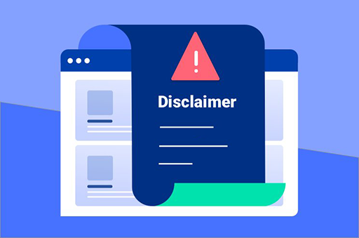 Things to cover in Disclaimer Pages