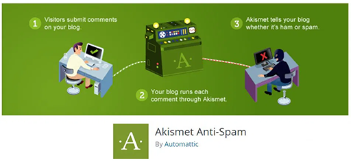 akismet plugin for wordpress blog
