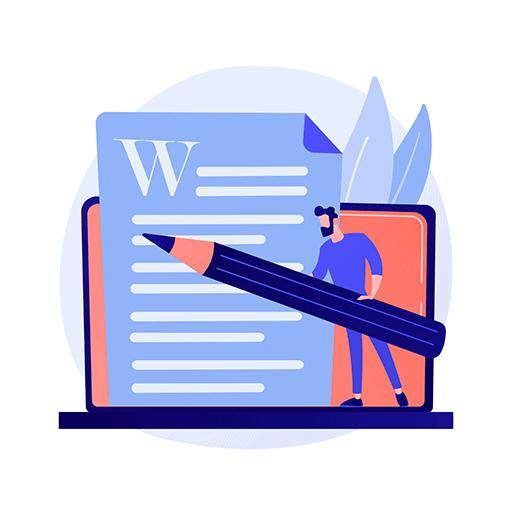 edit & trim your written blog post